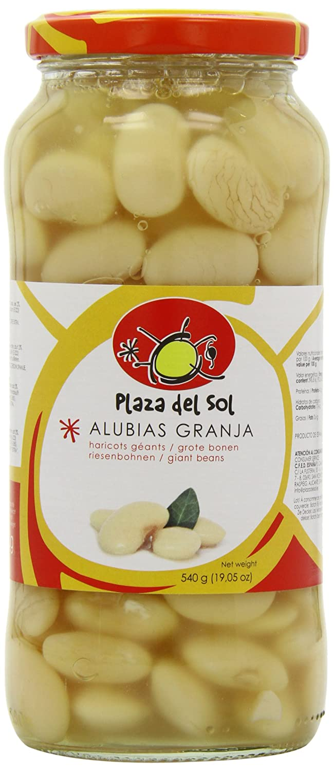 Amazon.com : Plaza del Sol Butterbeans in Brine 540 g (Pack ...