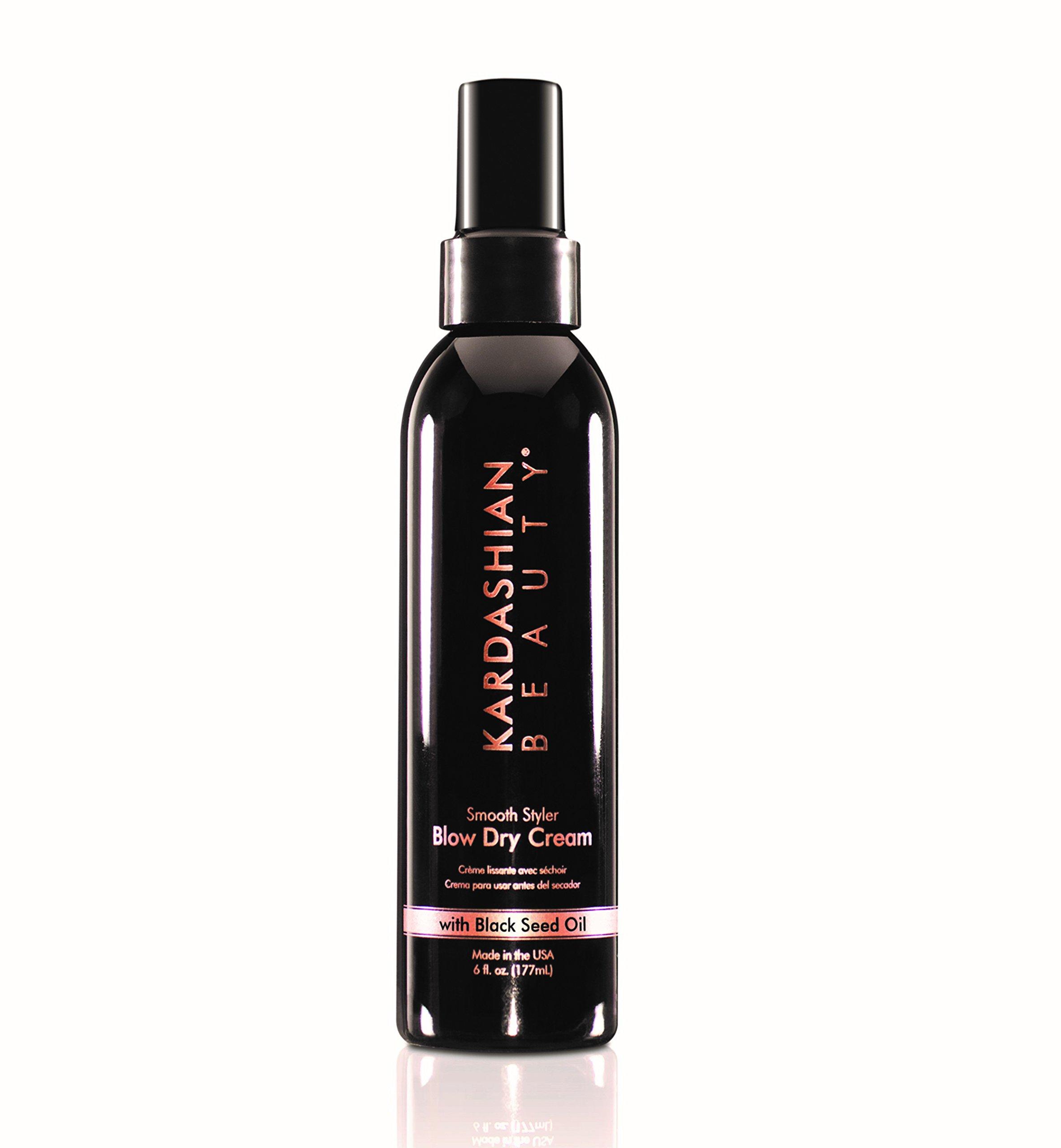 Kardashian Beauty Smooth Styler Blow Dry Cream, 6 Fluid Ounce
