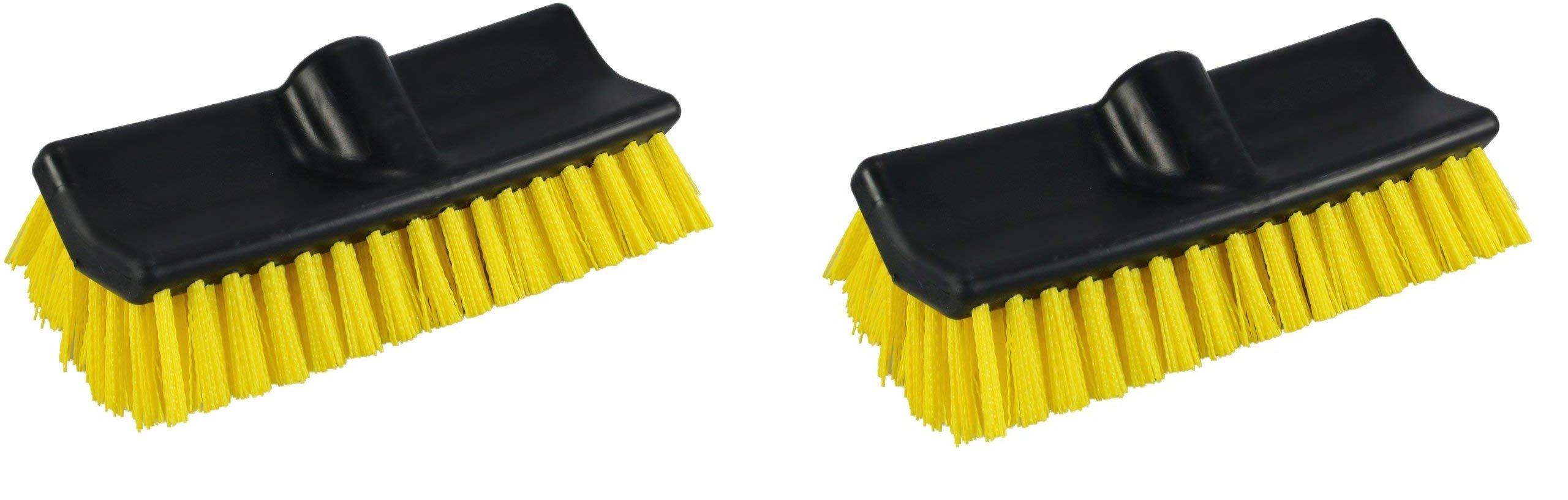 Unger Professional HydroPower Bi-Level Scrub Brush, 10'' (2 pack)