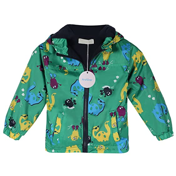 Amazon.com: Arshiner Baby Kids Boys Fleece Coat Jacket Carton ...