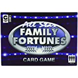 Ginger Fox All Star Family Fortunes TV Family Card Game
