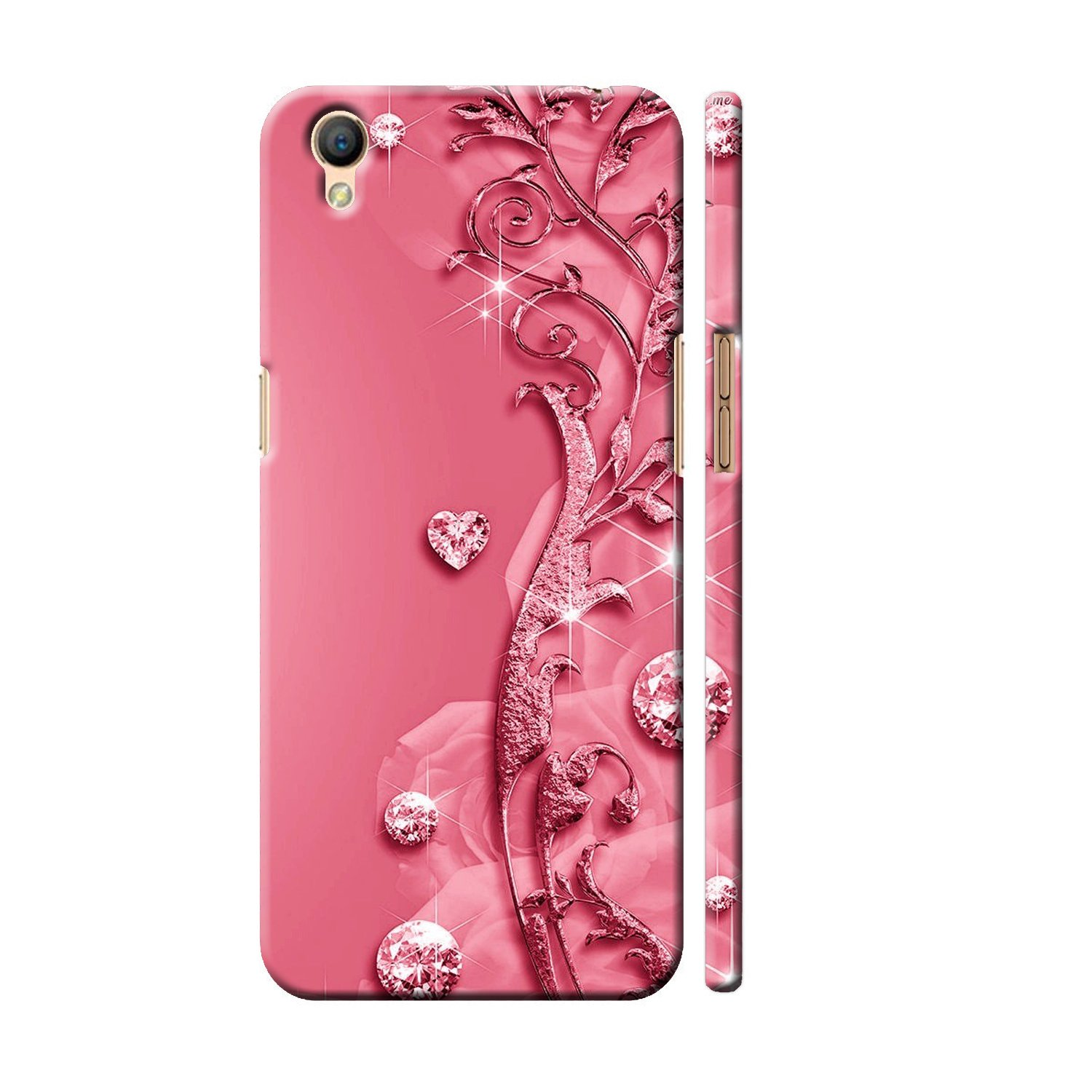 MOBIERA Back Cover for Oppo F7 Designer