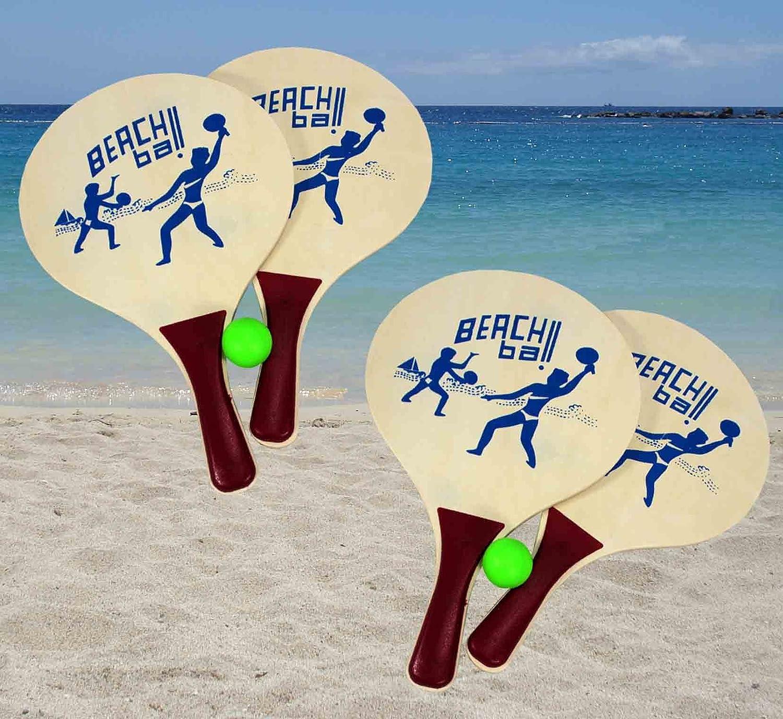MQ Doble Pack Beach Balón Playa Fútbol Playa Raqueta de Tenis ...