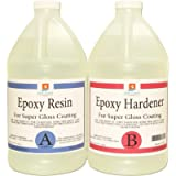 EPOXY Resin 1 Gallon Kit. for Super Gloss Coating and TABLETOPS