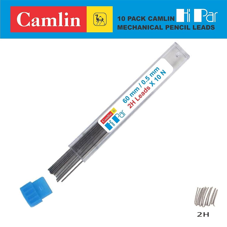 10 PACK CAMLIN HI PAR MECHANICAL PENCIL LEADS REFILL 0.5//0.7//0.9//2.0 MM 2.0mm 2B