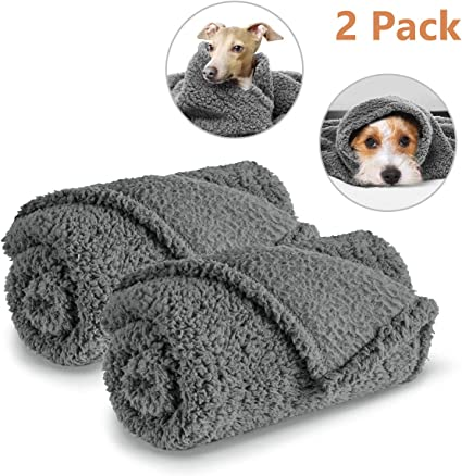 Dog Bed Chair Car Large Warm Blanket Fleece Throw Beagle Design Two Colours