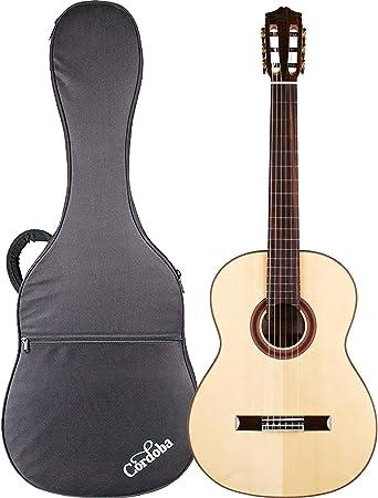 Cordoba C7 SP - Guitarra acústica clásica con cuerda de ...