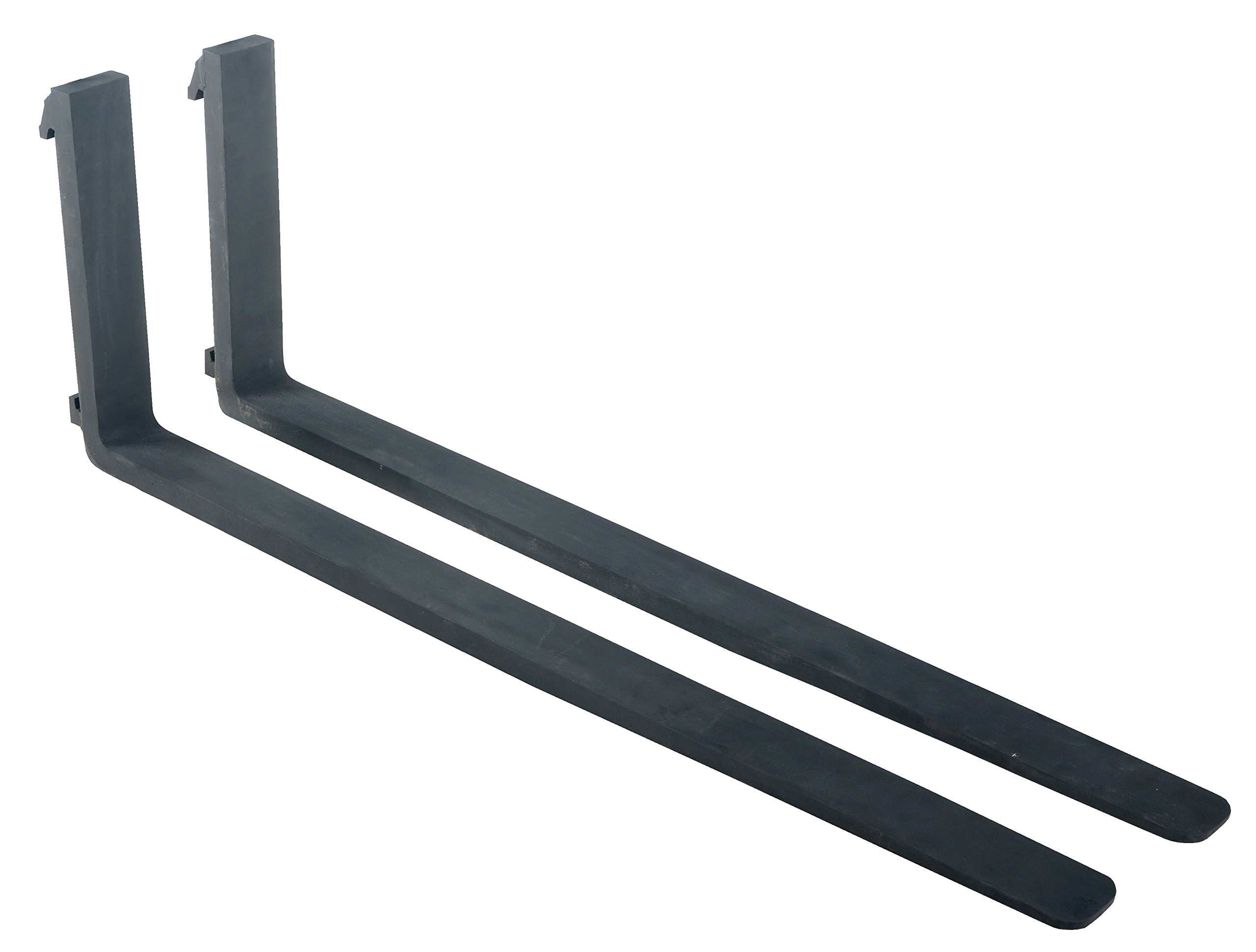 Vestil F4-1.50-60 Forged Steel Fork, 60'' Length, 4'' Width, 1-1/2'' Thick, 4000 lbs Capacity
