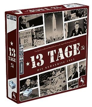 Pegasus Juegos 57300 g no 13 Días - La Cuba Crisis 1962, Juego: Amazon.es: Juguetes y juegos