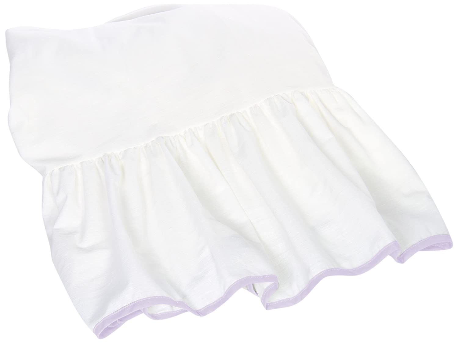 Baby Doll Unique Crib Dust Ruffle, Pink 1230dr