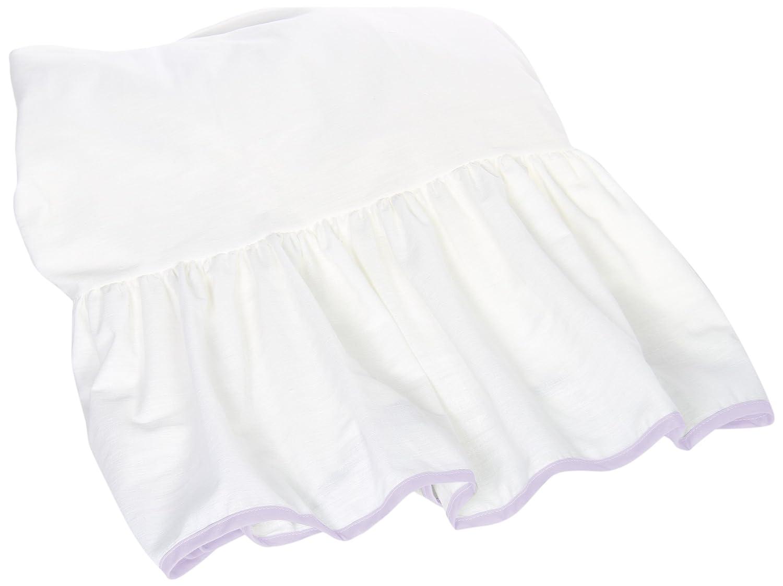 Baby Doll Unique Crib Dust Ruffle Grey