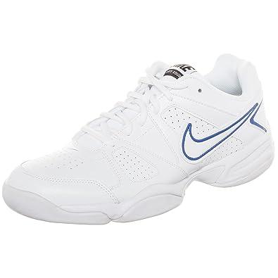 huge discount 52d17 e4325 NIKE - City Court VII Indoor Men Tennis Shoes (White Blue) - EU 44 -US 10   Amazon.co.uk  Shoes   Bags