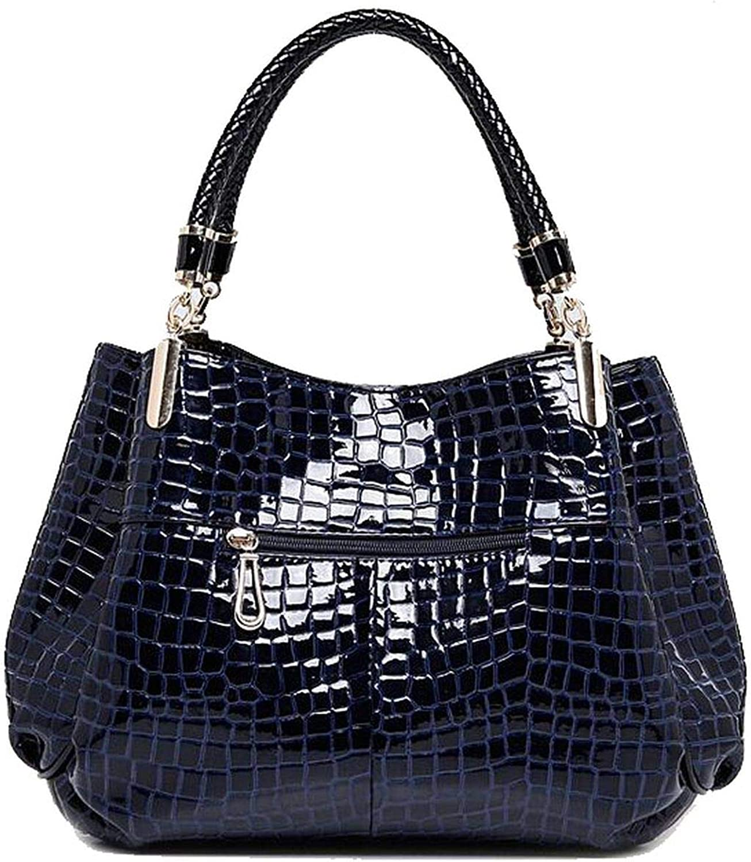 2 bag/set Moda borse di coccodrillo donne totes signora borsa+borsa/portafoglio carteras mujer grande capacità nero bianco spalla kit Scarpette A Strappo Voltaic 3 Velcro Fade - Bambini