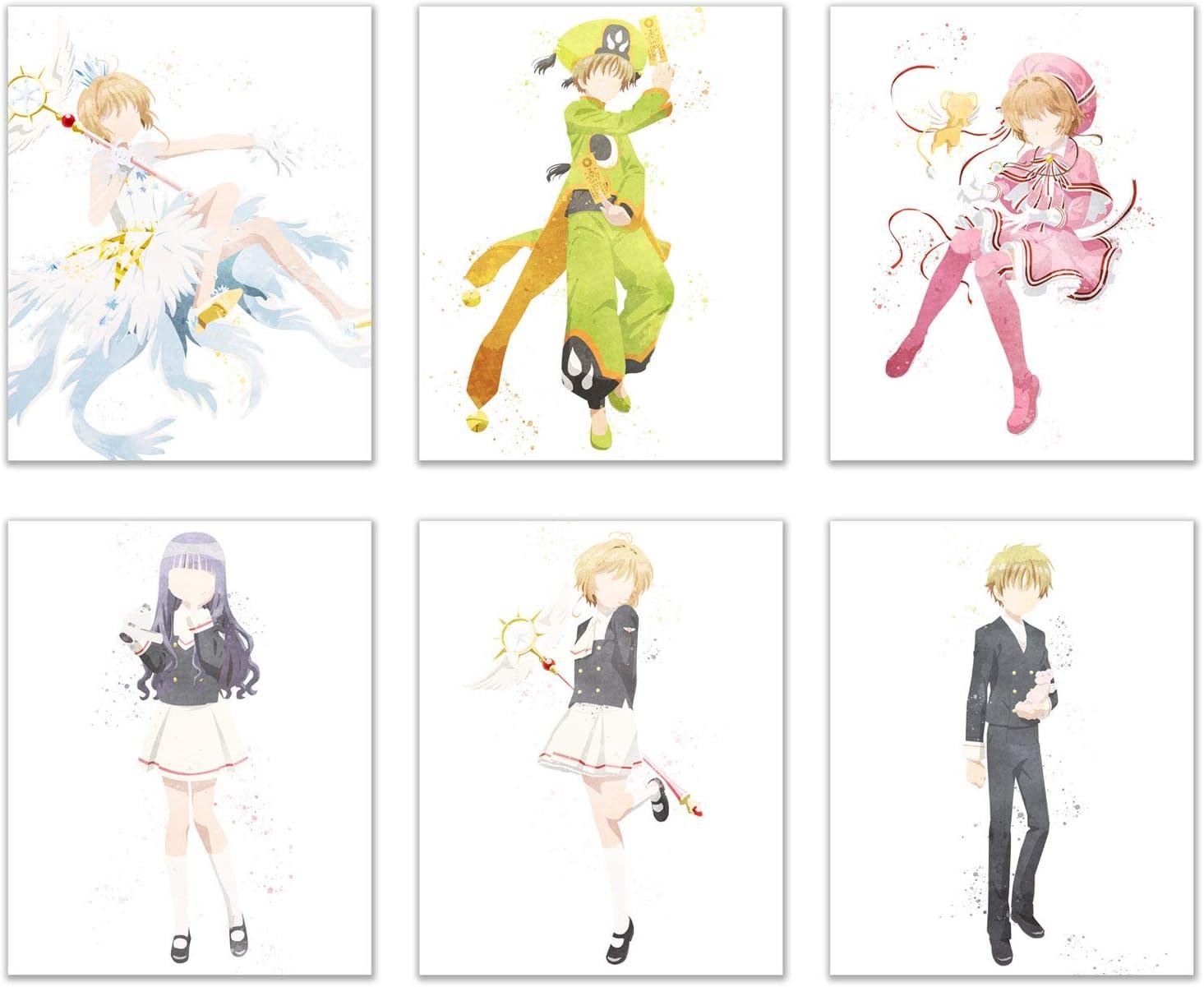 4236 Cardcaptor.Sakura Clear Card hen Anime manga wall Poster Scroll
