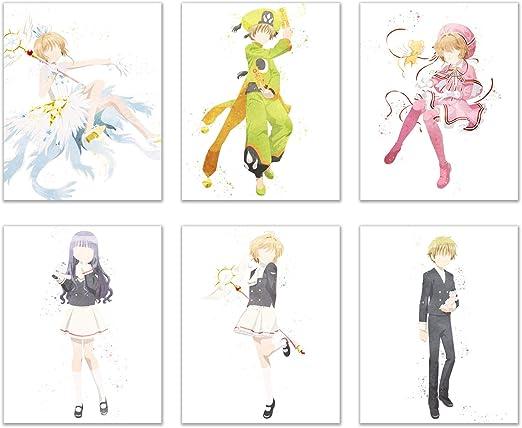 Puella Magi Madoka Magica Anime Dictionary Art Homura Akemi Poster Picture