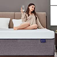 Ssecretland Gel Memory Foam Mattress with CertiPUR-US Certified Foam (Mattress Only) -Medium Feels-Bed Mattress in a Box