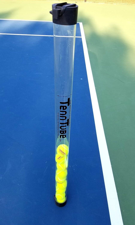 Tourna Tenn Tube Tennis Ball Pickup, Clear : Sports & Outdoors
