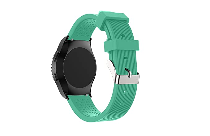 Senter for Gear Sport Band / Gear S2 Classic Bands - 20mm Soft Silicone Watch Band Replacement Strap Wristband for Samsung Gear Sport Smartwatch