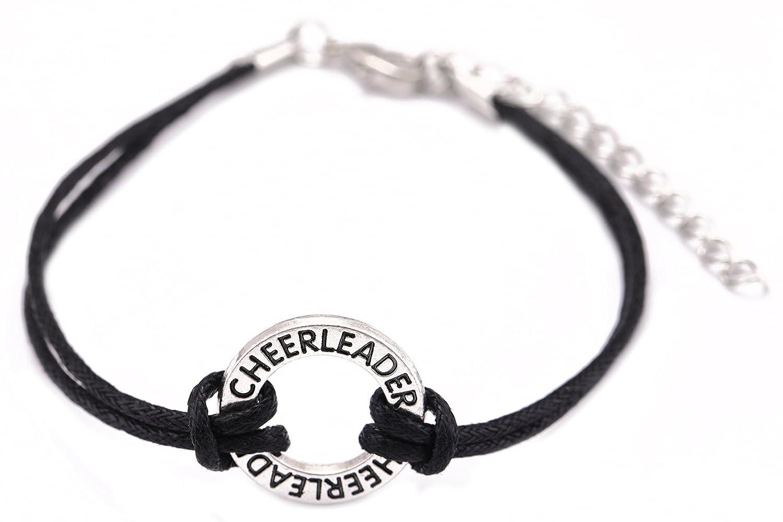 EUEAVAN Cheerleader Brief mit verstellbarer Wachs-Armband für Teenager-Mädchen YI WU KE JI
