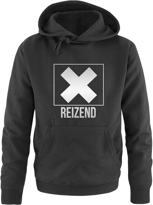 Herren Hoodie Reizend Comedy Shirts K/ängurutasche Kapuze Print-Pulli Langarm