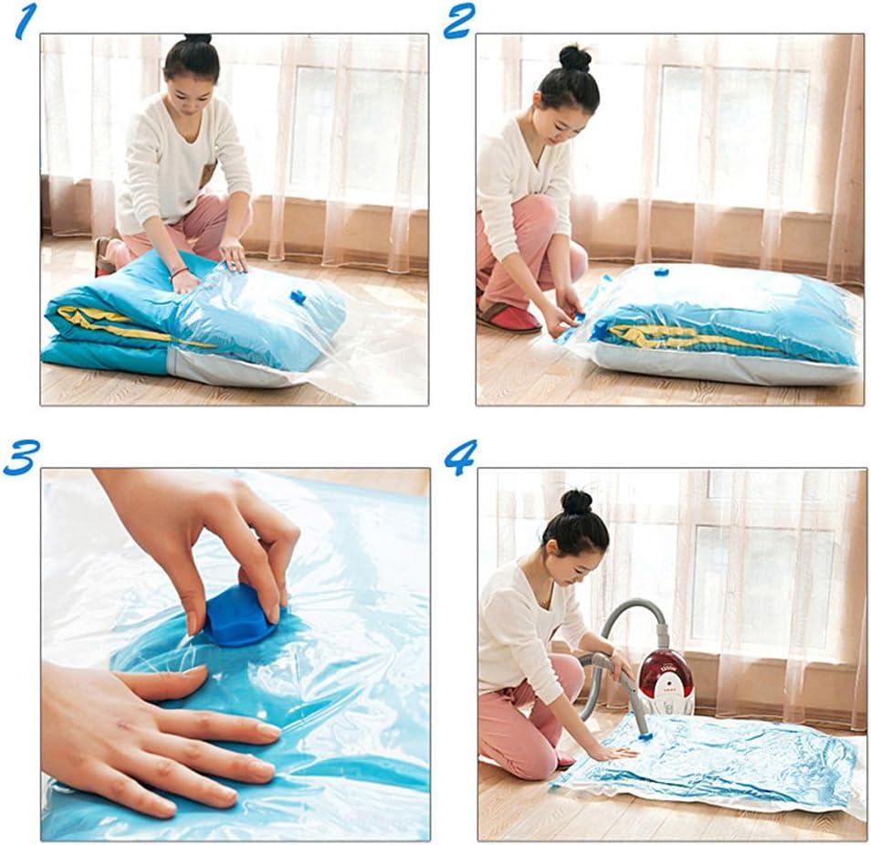 E Support/™ Vakuumbeutel Aufbewahrungsbeutel verschiedene platzsparend Taschen komprimiert Reise wiederverwendbare gro/ße 70x50cm