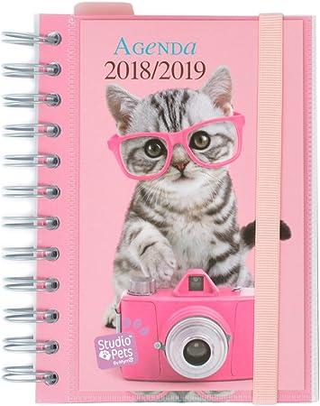 Grupo Erik Editores Studio Pets - Agenda escolar en español con ...