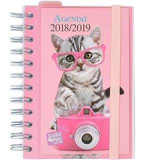 Grupo Erik Editores Studio Pets - Agenda escolar con espiral ...