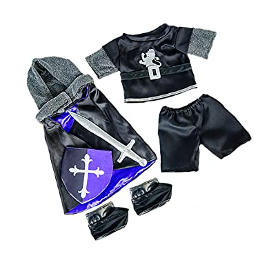 """Medieval Knight Costume Fits Most 14\"""" - 18\"""" Build-a-bear and Make Your Own Stuffed Animals : Toys & Games [5Bkhe0401668]"""