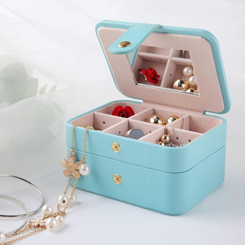 Amazon.com: Equuleus - Organizador de joyas, portátil, con ...