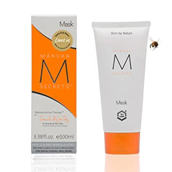 Manuka Secrets Facial Mask Cream For Dry or Oily Skin with New Zealand Manuka Honey 3.38oz Lierac Cleansing Oil Makeup Remover for Face & Eyes, 5 Oz (Pack of 3)