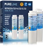 Pure Line UKF8001 PUR Fast Flow Water Filter Replacement UKF8001AXX, EDR4RXD1, Whirlpool 4396395, Puriclean II, Kenmore 9006 By Pure Line (2 Pack)