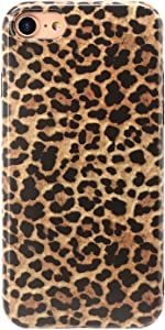 MUNDULEA Compatible iPhone SE 2020/iPhone 7/iPhone 8 4.7 inch Case Leopard Classic Cheetah Girl Cute Smooth TPU Fashion Cover Compatible iPhone 7/8/SE 2 (Classic Leopard)