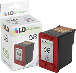 LD Remanufactured Ink Cartridge Replacement for HP 58 C6658AN (Photo Color)