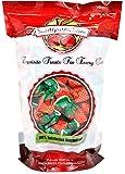 SweetGourmet Arcor Strawberry Buds Bon Bon Filled Hard Candy, 2Lb