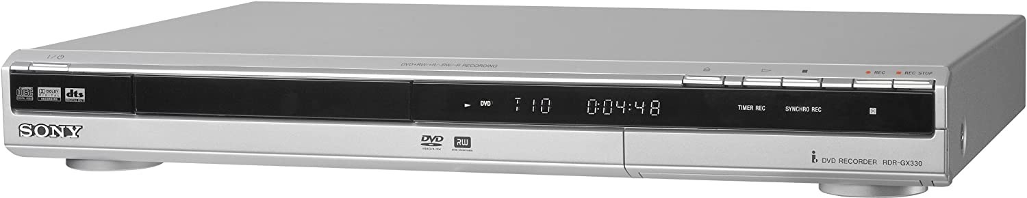 Sony Rdr Gx330 Single Tray Dvd Recorder Amazon Ca Electronics