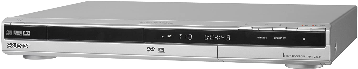 amazon com sony rdr gx330 single tray dvd recorder electronics rh amazon com sony dvd player dvp-ns628p user manual sony dvd recorder rdr-hxd890 instruction manual