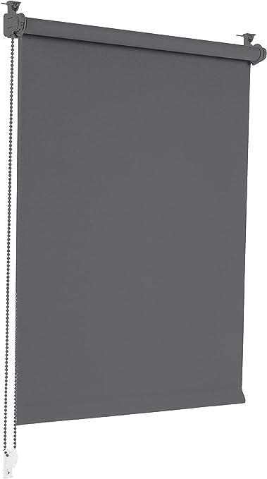 Verdunklungsrollo Klemmfix ohne Bohren Rollo Verdunkelung Seitenzugrollo Fenster