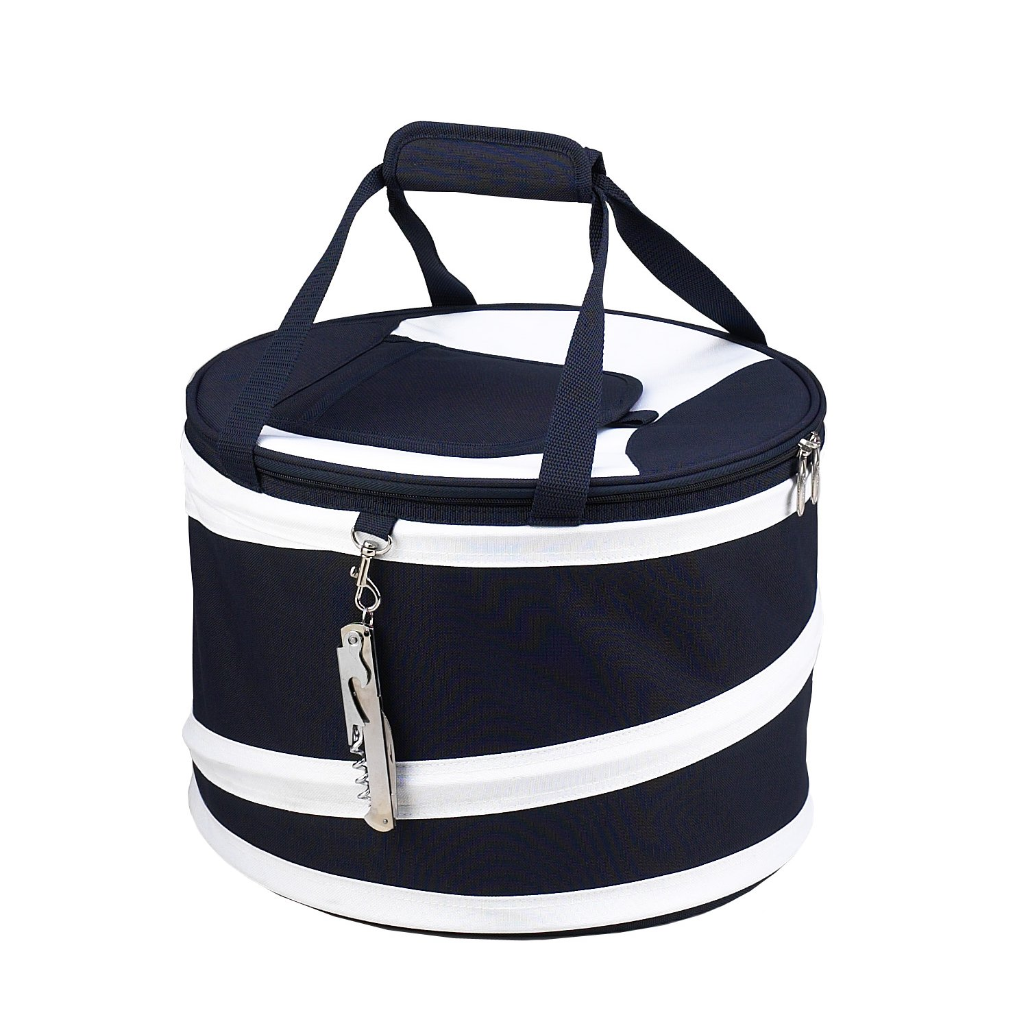 Picnic Ascot 494-BCompact Pop-Up Cooler Tub - Navy-Wei-
