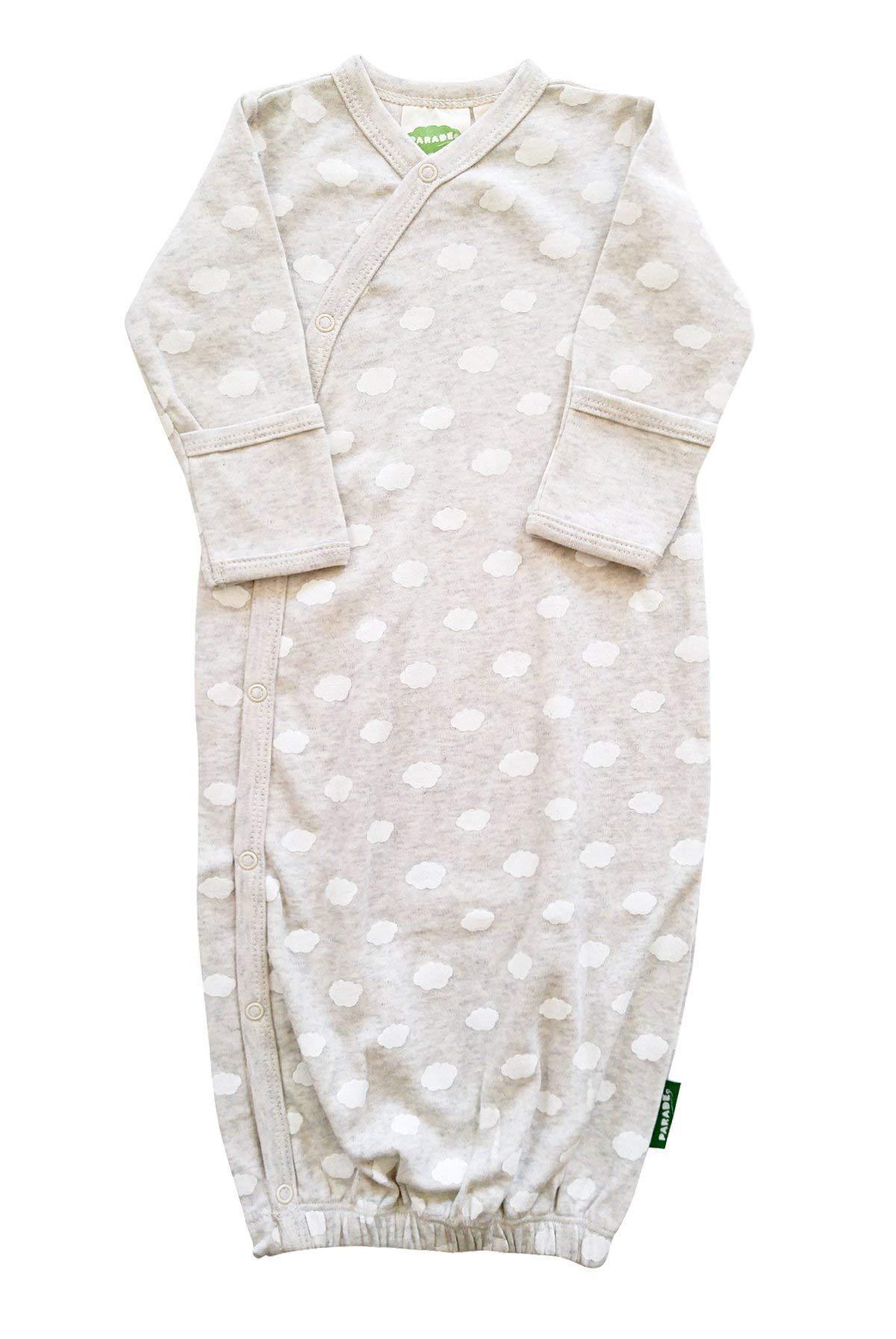 Signature Prints Black Galaxy 0-3 Months PARADE Kimono Gowns