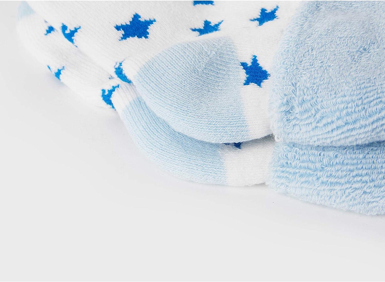 1-3 Anni 6-12 Mesi VWU Calzini Calze Invernali Caldo Cotone Bambini e Neonati Confezione da 6 Paia 0-6 Mesi