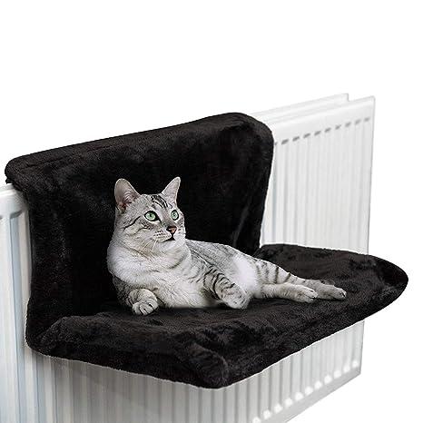 HKANG Cama del radiador del Gato y del Perro Caliente y acogedora Cama del radiador del ...