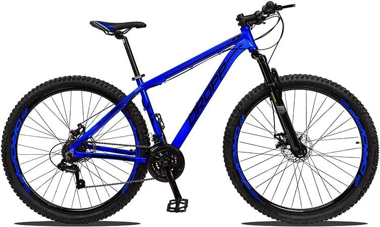 Bicicleta Dropp Z1 T19 Aro 29 Susp. Dianteira 21 Marchas - Azul
