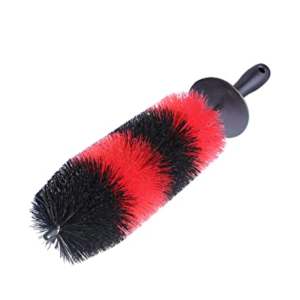 Wheel Brush Long Soft Car Wheel Brush Rim Tire Brush Multipurpose Use for Cars Motorcycles Bicycles Car Care