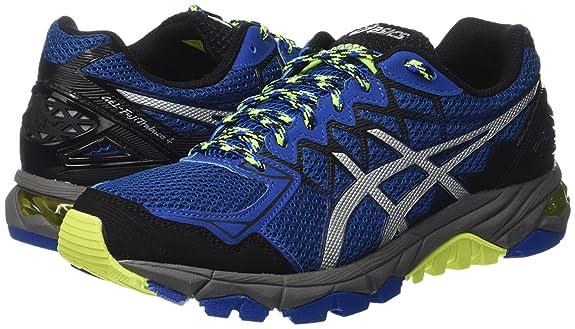 Asics Zapatillas Gel-Fujitrabuco 4 Azul/Negro/Amarillo EU 39.5 (US 6H): Amazon.es: Zapatos y complementos