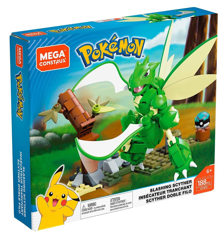 Mattel Mega Construx GCN19 Pokémon Scyther Mega Construx ...