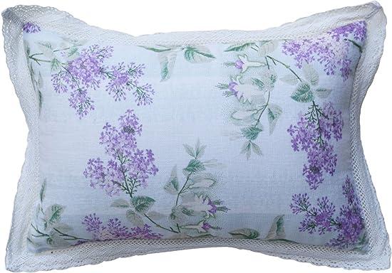 April Cornell Lavender Lilah Linen Cushion Pillow