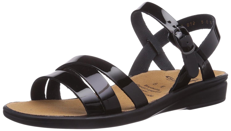 Womens Sonnica, Weite E Sandals Black Size: 6 Ganter