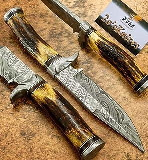 Amazon.com: Cuchillo de cocina hecho a mano D2 de acero ...