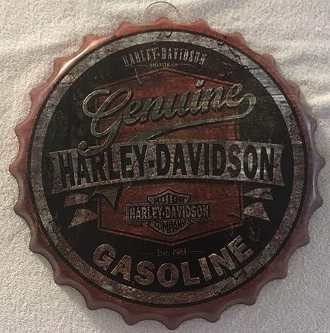 Harley Davidson arranview aceite de Motor, botella redonda ...