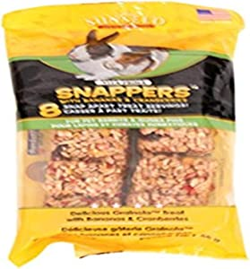 Sunseed Company 36050 Banana/Berry Vita Prima Snappers For Pet Rabbits And Guinea Pigs, 2 Oz